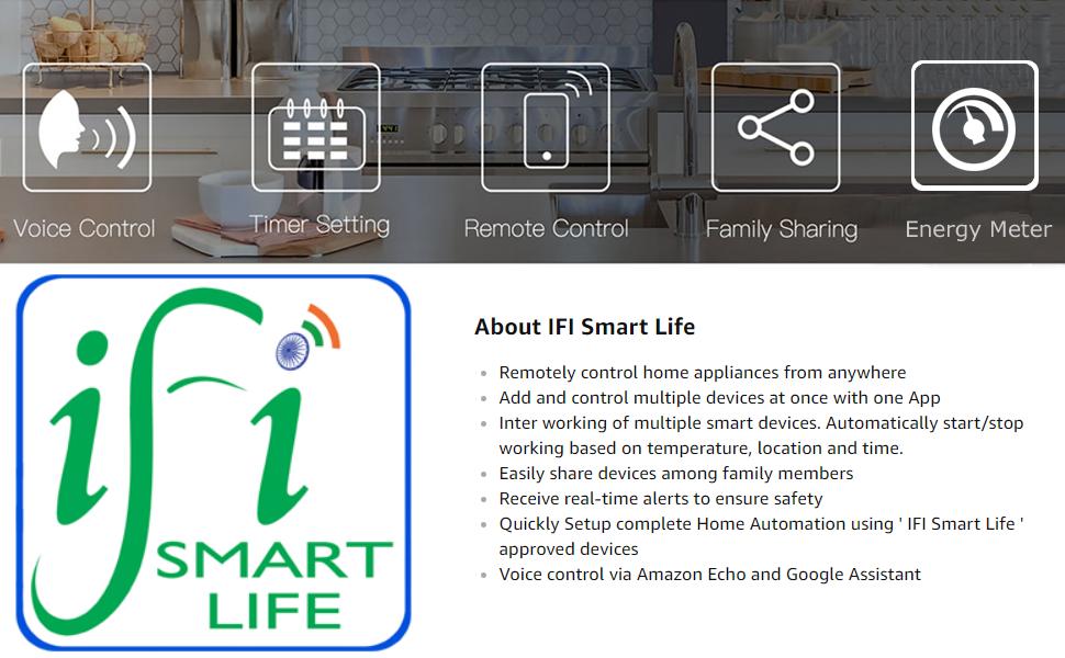 Home Automation Switch,Alexa Touch Switch, 4 Gang Switch, WiFi Plug, WiFi Power Socket