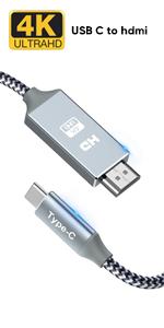 USB C vers HDMI