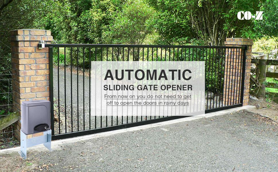 Amazon Com Co Z Automatic Sliding Gate Opener Hardware