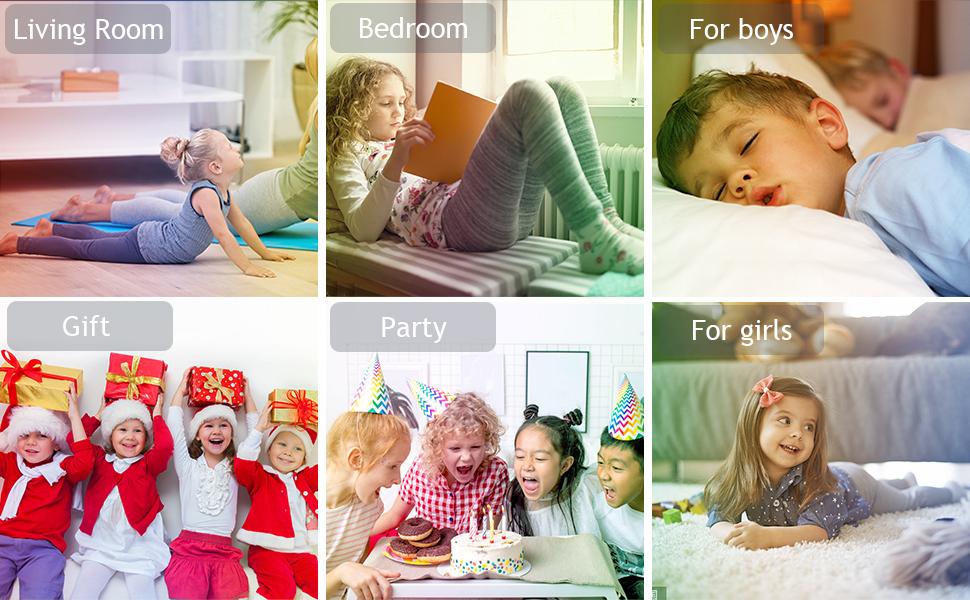 children alarm clocks bedside