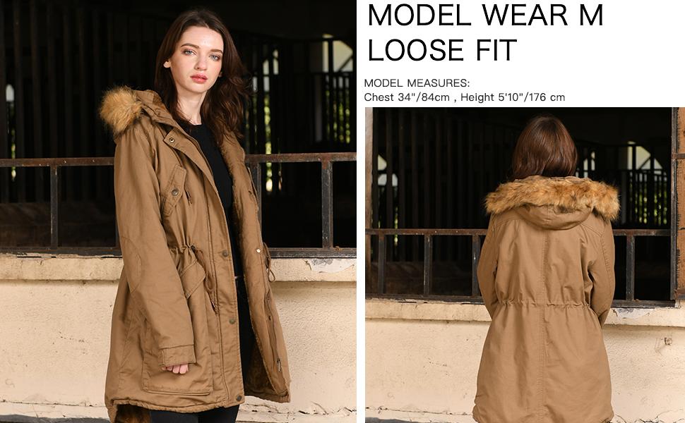 jacket heavy coats womens winter fleece jacket coats