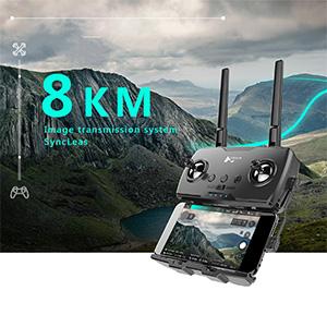8KM Flight distance