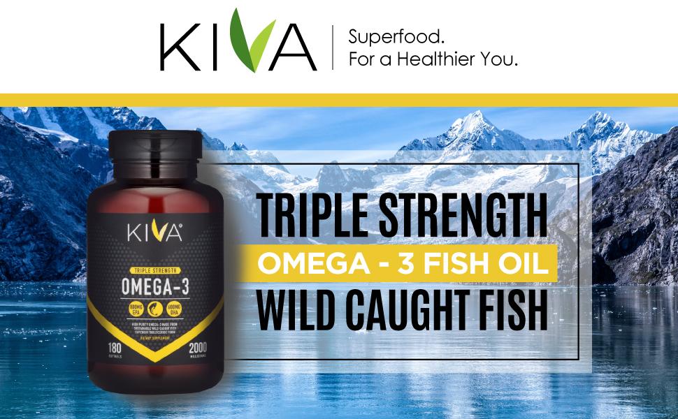 Kiva omega-3 triple strength