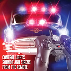 rc police car gift for kids