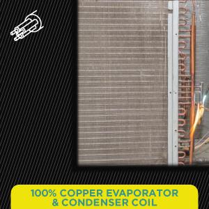 100% Copper Evaporator & Condenser Coil