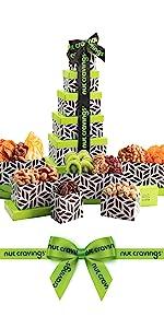 nut cravings gourmet gift basket - nuttin' says yum better