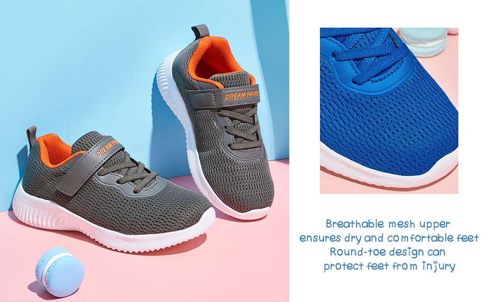 kids running shoes athletic tennis sneakers boys girls spots comfortable breathable school gym