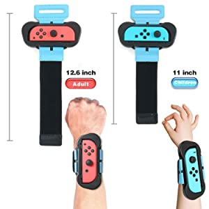 switch wrist bands for adult and child