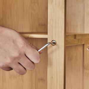 Free Standing Organizer Cabinet Large Side Cabinet Wooden Storage Organizer Multipurpose Cabinet