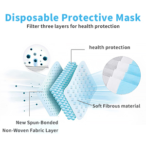face mask for masks disposable made in usa with filter ppe