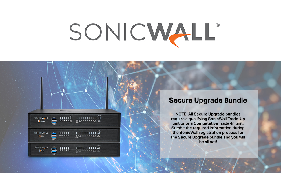 SonicWall TZ Series Secure Upgrade Trade UP