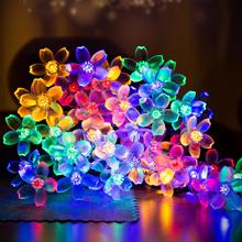 waterproof outside flower string lights