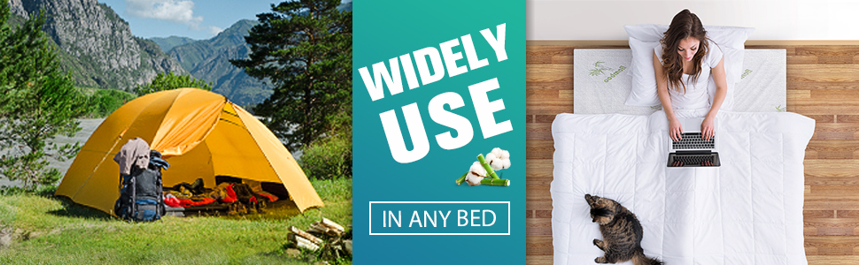 Widely Use in any bed, Indoor and out door