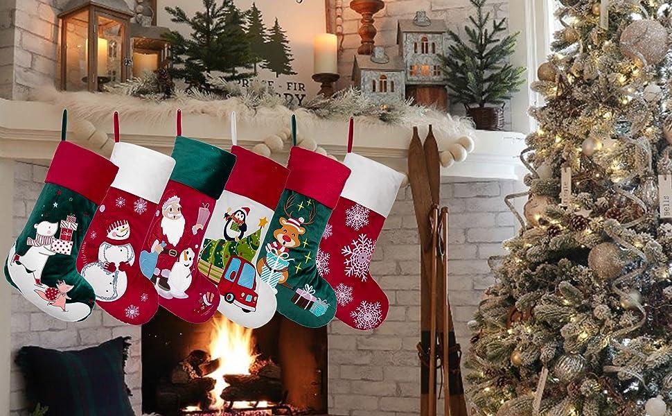 christmas stocking velvet 11