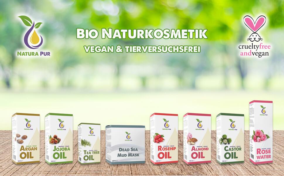 Biologische natuurlijke cosmetica.