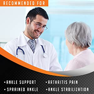 medical grade doctor recomended ortho ankle brace