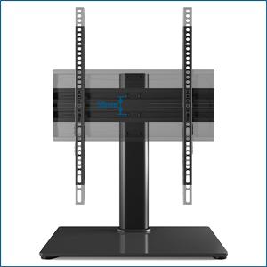BONTEC Soporte TV Universal Soporte TV Mesa Peana para TV de 26-55 Pulgadas LED/LCD/Plasma/Curva/Plana, Altura Ajustable Plano y Curvo hasta 40 kg, máx. VESA 400x400 mm: Amazon.es: Electrónica