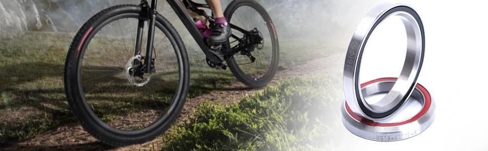 Fahrrad Steuersatzlager Teil Stahl Ersatz Zubehör Rund Mountainbike Reparatur