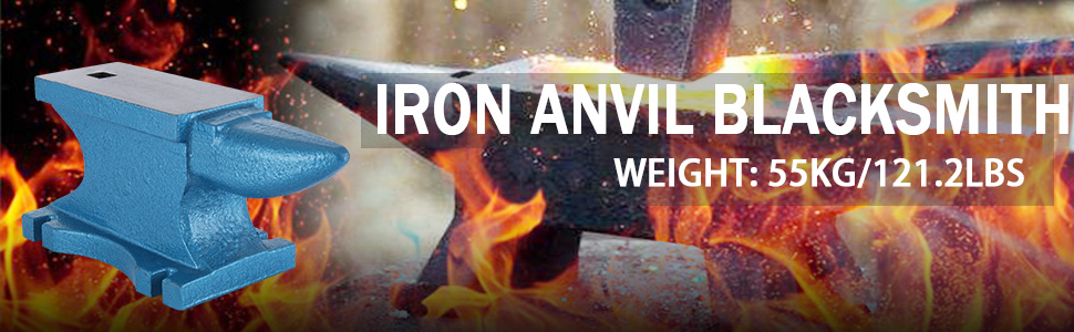 Amazon.com: Happybuy Single Horn Anvil 55Lbs Cast Iron Anvil ...