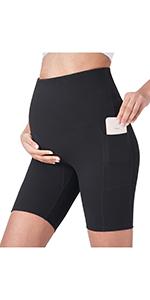 womens biker shorts maternity shorts over the belly maternity shorts maternity exercise shorts