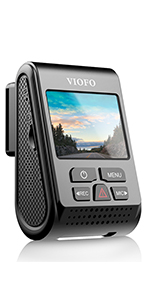 7G F1.6, 140° FOV Quad HD+ 2560*1600P Sony STARVIS IMX335 5MP Sensor 256GB ADVANCED VIOFO A119 V3