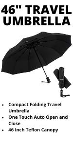 46 Inch Travel Umbrella