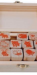 stampmojis animal stamp set