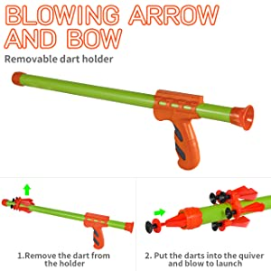 BLOWING BOW
