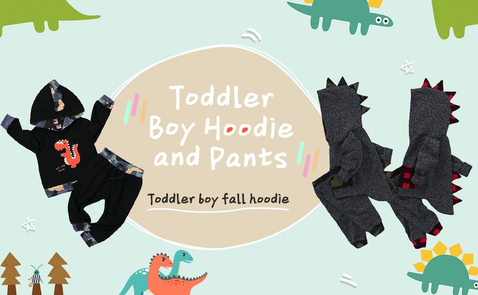 dinosaur hoodie for toddler boys