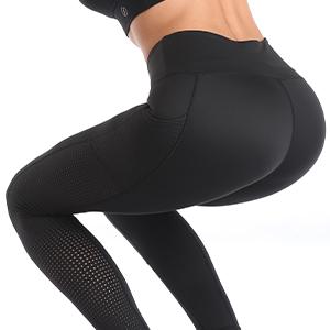 Women Mesh Workout Yoga Leggings