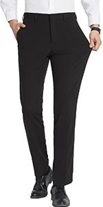 スーツパンツ メンズ チノパン ビジネスパンツ ロングパンツ スラックス ストレッチ 光沢 美脚 通勤 ビジネス