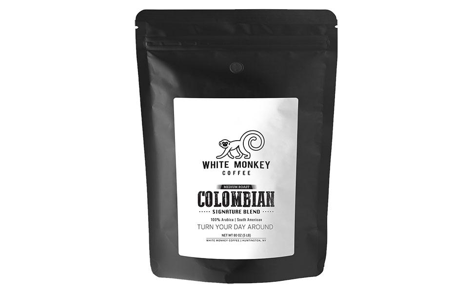 colombian columbian house breakfast blend signature medium dark bulk cheap cheapest best coffee