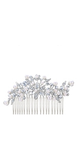 vintage hair accessory for wedding prom