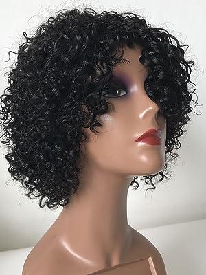 kinky curly human hair wig curly weave human hair bundles