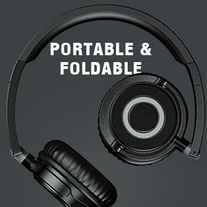 PORTABLE ON EAR HEADPHONES