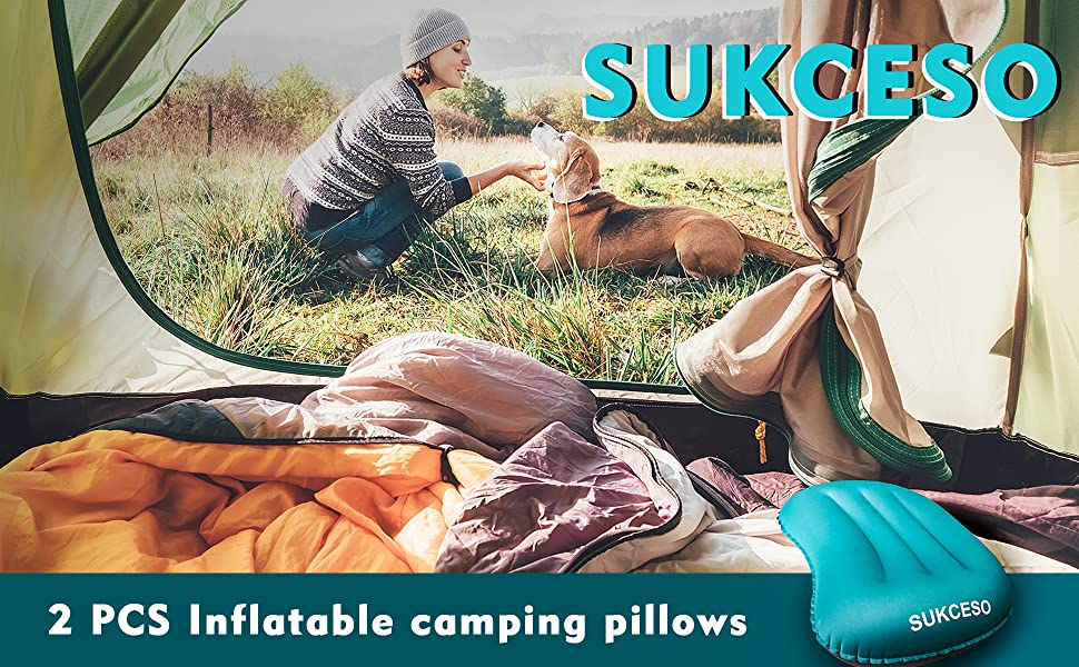 camping pillows for sleeping