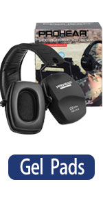 PROHEAR 016-Gel Shooting Ear Protection