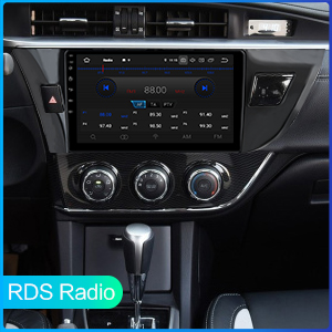 Built-in RDS Radio
