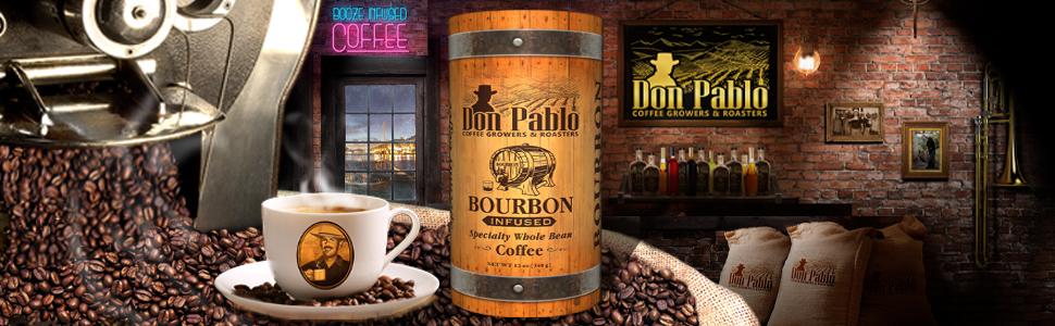 Don Pablo Coffee Beans Subtle Earth Signature Blend Bourbon Gift