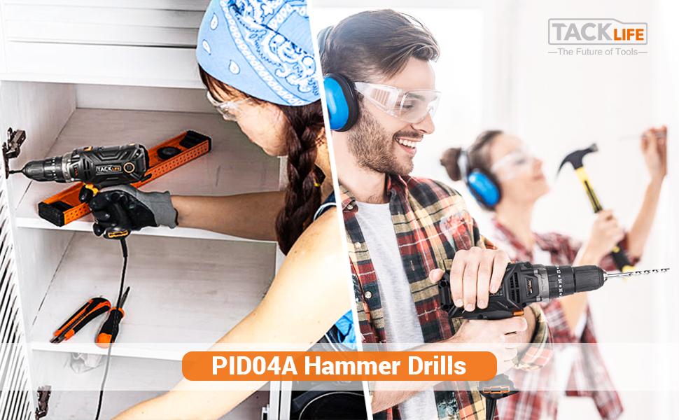 pid04a hammer drill