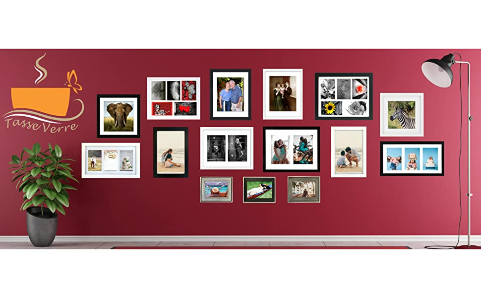 tasse verre logo picture frame shadow box boxes wall mount 8x10 5x7 4x6 best amazon cheap black