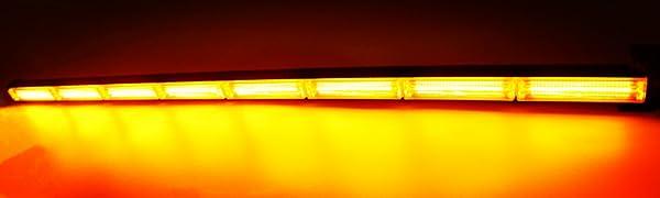 HEHEMM 114,3/cm 144/W Cob LED-Arbeitsleuchte Bar Beacon Tow Truck Notfall Warnung Strobe Lampe