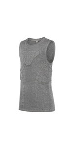 Youth Padded football vest grey