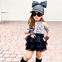 baby girl summer skirt set