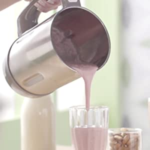 Vegan Chef Vegan Revolution vegano leche preparadora para sopa smoothie, cremas, puré