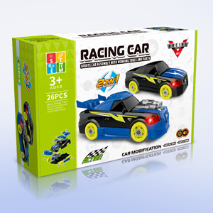 Take Apart Racing Car with Electric Dril for 3 Year Old Boys and Girls