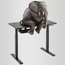 standing desk adjustable height electric