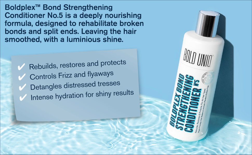 Bold Plex Bond Strengthening Protein Conditioner Dry Damage Hydrating Colored Frizzy Bleached