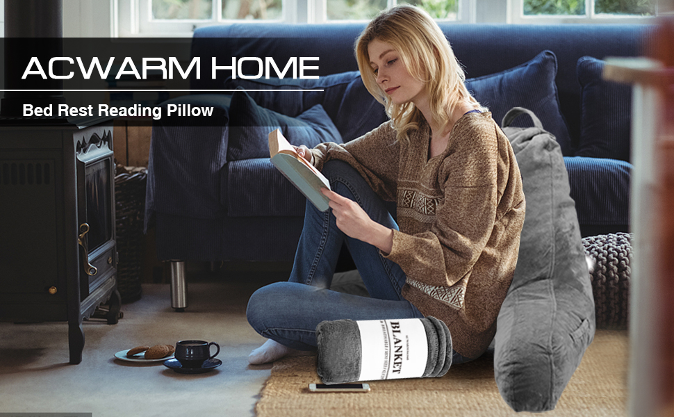 ACWARM HOME reading pillow