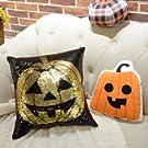 Holloween Decoration-Sequins pillowcase